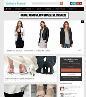 Established Ladies Fashion Shop Online Business Website For Sale, Free Domain ++