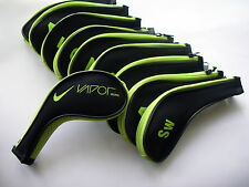 Nike Vapor Golf Club Iron Covers Zipped Headcovers