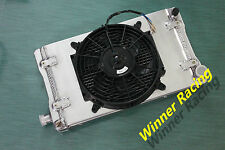 "40MM ALUMINUM ALLOY RADIATOR&SHROUD& 10"" FAN MG MIDGET 1500 MT 1974-1980 1979"