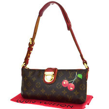 Auth LOUIS VUITTON Mon Cheri Limited Shoulder Bag Monogram Leather M95000 32P009