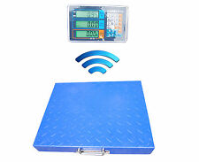 600LBS 300KG Wireless Floor Counting Scale Chargerable Check Weighing Scale