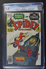 SPIDEY SUPER STORIES #32 2nd cameo SABRETOOTH 3/1978 3rd CAPTAIN BRITAIN CGC 9.8