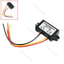 New DC 12V to 9V 2A 18W Converter DC-DC Buck Step Down Module Car Power Supply