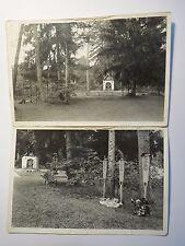 Soldatenfriedhof Russland 3 Gräber Rupert Wein Erich Stöckl Ludwig Pöschl 2 Foto