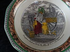 C1960's Adams China Small Bowl - Cries of London 'Pea Gathers'