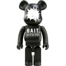 BAIT x Medicom Bearbrick Be@rbrick 1000% transparent bullet hole Figure figurine