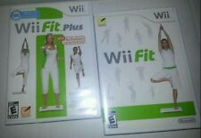 Lot of 2 - Original Wii Fit and Wii Fit Plus Nintendo, good condition