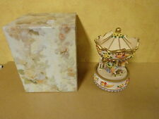 CAROUSEL MUSIC BOX ( MELODY: YOU LIGHT UP MY LIFE )