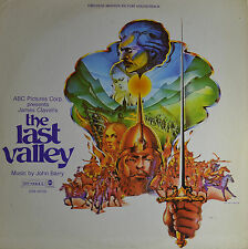 "THE LAST VALLEY - JOHN BARRY  12""  LP (P818)"