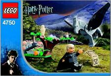INSTRUCTIONS ONLY LEGO DRACO'S ENCOUNTER WITH BUCKBEAK 4750 manual book from set