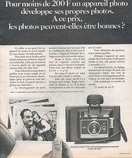▬► PUBLICITE ADVERTISING AD Appareil Photo POLAROID