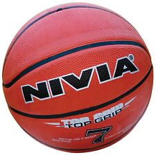 Nivia Top Grip Basketball, Size 7 Full Size