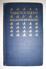 VARIOUS VIEWS By William Morton Payne. 1902. Shakespeare in France, Literature