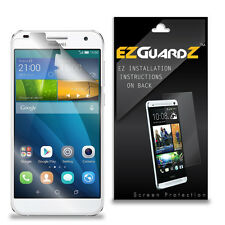 3X EZguardz LCD Screen Protector Skin HD 3X For Huawei Ascend G7 G760 (Clear)