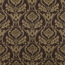 683303 Black Gold Bling Damask Royal Wallpaper