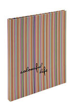 Large Striped Scrapbook Guest Book Office School Stationery By Katz 0706C-SB