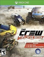 XBOX ONE THE CREW WILD RUN EDITION BRAND NEW VIDEO GAME