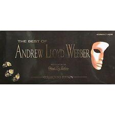 The Best of Andrew Lloyd Webber 4 CD's [Long Box] by Andrew Lloyd Webber NEW NEW