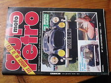 $$ Revue auto moto retro N°25 2CV  Bristol 6 cylindres  Nancy  Ford Mustang