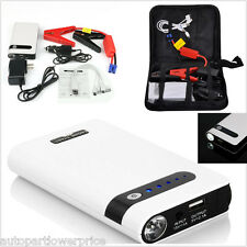 12000mAh Portable Jump Starter Car Battery Charger Mini Power Bank LED Emergency