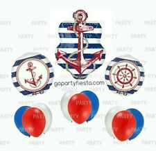 Nautical Balloons Sailor Balloons Baby Shower Nautical