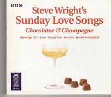 (FX888) Steve Wright's Sunday Love Songs: Chocolates & Champagne, 2CDs - 2004 CD