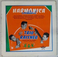 Harmonica 33 tours 25 cm Trio Raisner Harmonica Cocktail