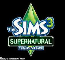 THE SIMS 3 SUPERNATURAL expansion [PC/Mac] Origin key