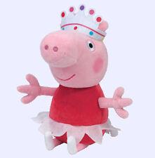 """Ty Peppa Pig Beanie Babies ~ 8"""" Peppa Ballerina"""