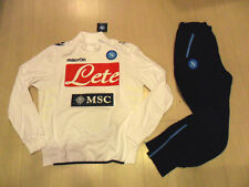 FW13 SSC NAPOLI TG XL TUTA UFFICIALE OFFICIAL TRACKSUIT SURVETEMENT SUDADORA W