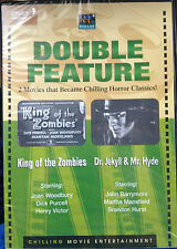 King of the Zombies/Dr. Jekyll and Mr. Hyde (DVD) SEALED double feature