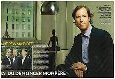 Coupure de presse Clipping 2011 (6 pages) Andrew Madoff