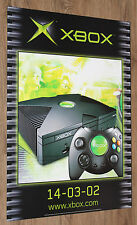 2001 Microsoft Xbox (console) Extremely rare Promo Poster 59x42cm