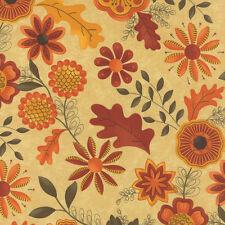 1 Half Metre Length Beauty Fall Floral Flower Fabric 100% cotton - 17881-11