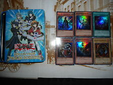 lot 6 cartes Yu-Gi-Oh! + Boîte Métal