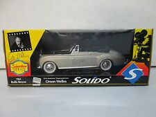 Solido Signature Series Orson Welles 1961 Rolls Royce 1/18