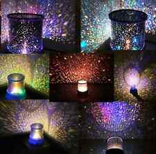 Lamp Romantic LED Starry Night Gift Sky Projector Kids Star light Cosmos Master