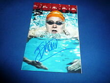 INGE DEKKER  signed Autogramm 10x15 cm In Person OLYMPIA Gold 2008 4x100m Frei.