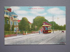 R&L Postcard: London Road Leicester, Tram