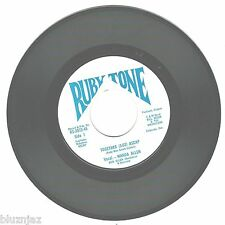 Bill Moon & the Wranglers~This Road I Walk Alone/Together~Ruby Tone Label 45 Rpm