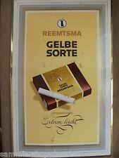 27164 Immoglas Schild aufsteller Reemtsma Gelbe Sorte international 25x40cm