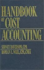 Handbook of Cost Accounting
