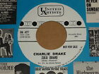"Charlie Drake ""Zulu Drake/Sweet Freddie Green"" US United Artists Promo 45"