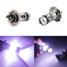 2X H7 AMPOULE 100W 20 LED Diurne DRL BULB LAMPE BLANC HID VOITURE AUTO LUMIERE