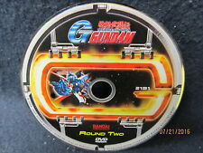Mobile Fighter G Gundam Round Two 2 DVD Disc Only Fast Free Shipping