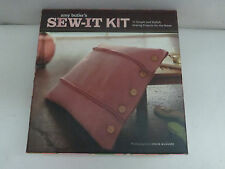 Amy Butler Sew It Kit 15 Simple Sewing Home Projects Tissue Box Cover Pillow NIB