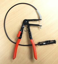 "Flexible Extended 24"" Cable Wire Hose Clamp Plier Automotive Tool"