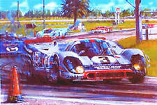 "Porsche Racing Print ""12 Hours at Sebring"" by Nicolas Watts"