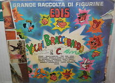 ALBUM YOGHI BRACCOBALDO E C EDIS 1974 FIGURINE CARTOON HANNA BARBERA TV RAGAZZI