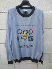 VINTAGE Sweat ADIDAS OLYMPIC COLLECTION Jeux OLYMPIQUES Melbourne 1956 192 XXL
